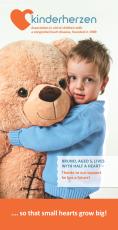 kinderherzen kurz&bündig: Infobroschüre