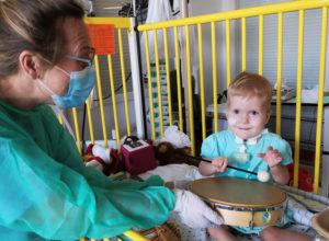 Herzkind Lia Musiktherapie