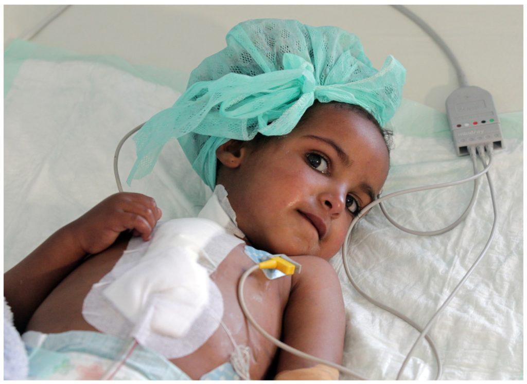 Kind in Eritrea