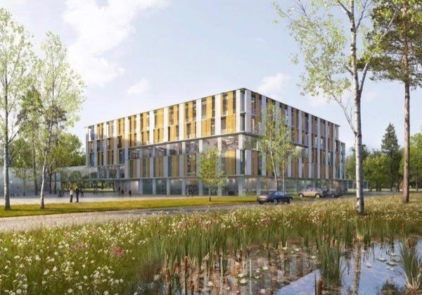 Modell des neuen Eltern-Kind-Zentrums Bonn