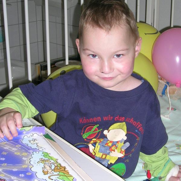 Kind im Krankenhaus