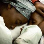 Eritreische Mutter mit Kind