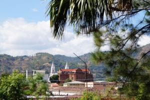 Blick vom Krankenhaus in El Salvador