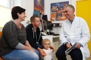 Dr. Breuer und eine Herzfamilie