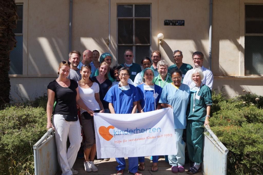 Gruppenfoto Ärzte-Team