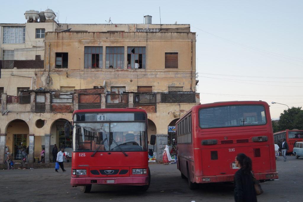 Busse in Asmara