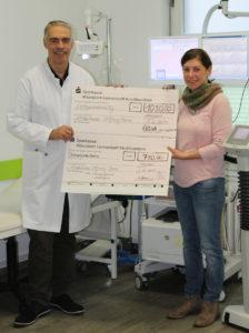 Spendenübergabe für das ELKI