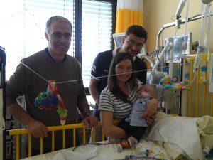 Dr. Breuer mit Familie Potrebitsch