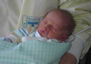 Nina als Baby