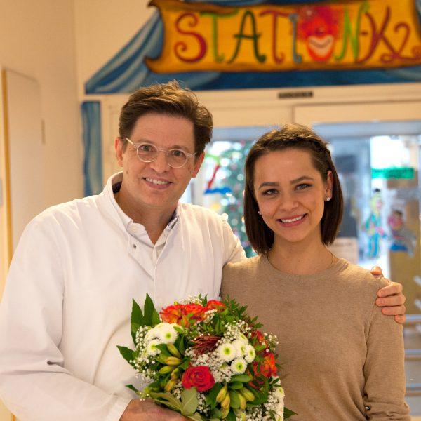 Sabrina und Prof. Asfour