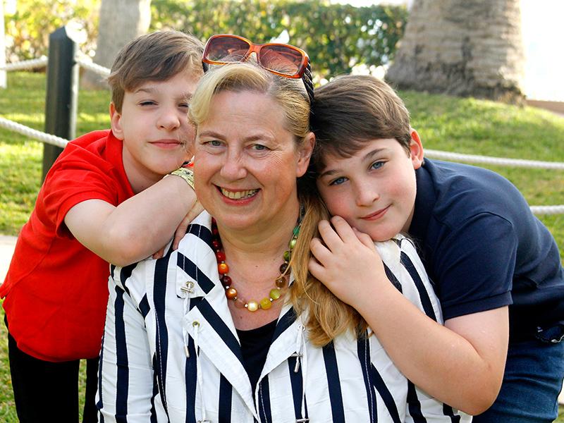 Mama Christiane, Moritz und Herzkind Felix