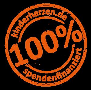 Logo spendenfinanziert