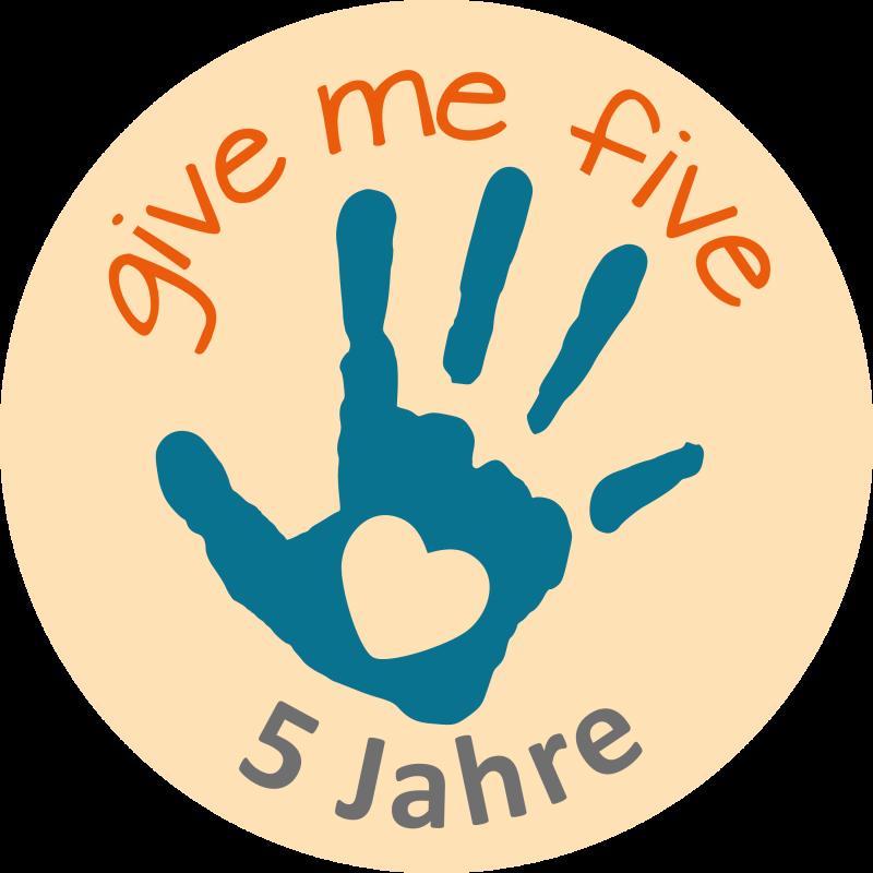 Logo give me five Bonn