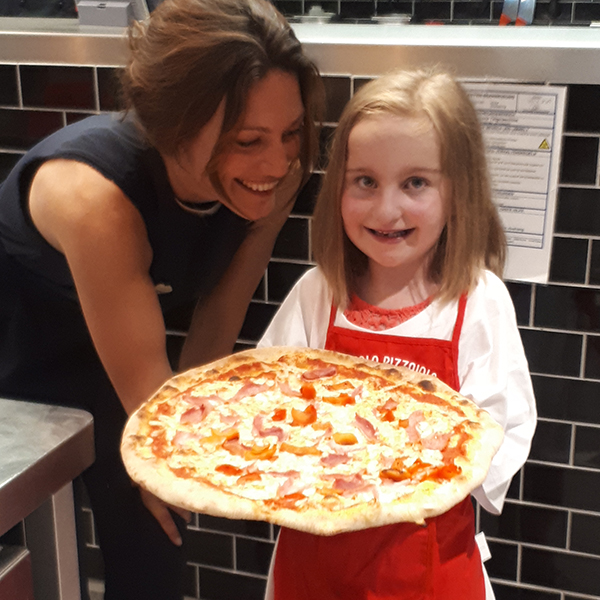 Herzkind Zoe Pizza L'Osteria