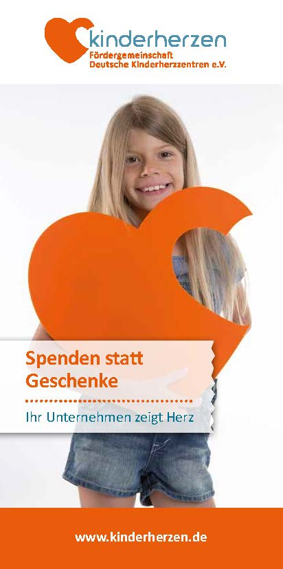 Cover Unternehmensspende Flyer