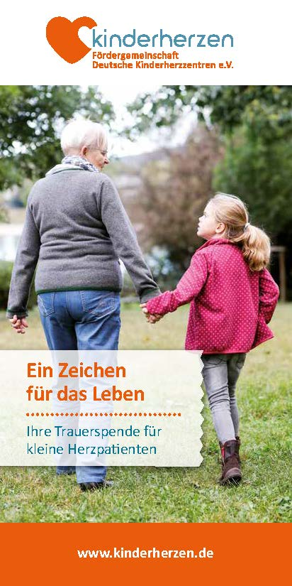 Cover Trauerspende Flyer
