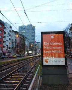 Wall Kampagne Aufklärungsplakate