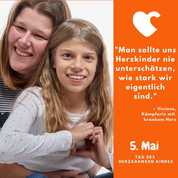 Herzkind Viviane Tag des herzkranken Kindes